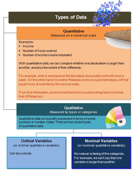 Quantitative vs Qualitative Data Concepts and Definitions